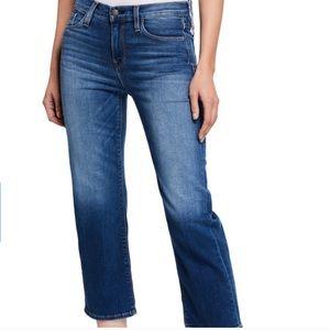 NWT Hudson Jeans Stella Mid Rise Crop Straight